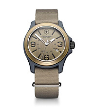 Victorinox® Swiss Army® Men's Original Nylon Strap Watch - Khaki Sand