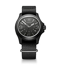 Victorinox® Swiss Army® Men's Original Nylon Strap Watch - Black
