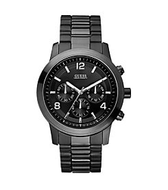 GUESS Men's Black Bold Contemporary Chronograph Watch