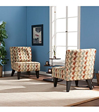 Holly & Martin™ Chappell Hill Chairs/Pillows-Clover Aegean