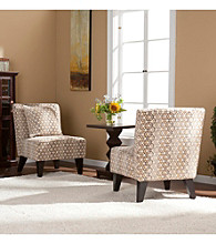 Holly & Martin™ Pair of Chappell Hill Accents Chairs with Coordinating Pillows