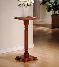 Monarch Dark Oak Plant Stand