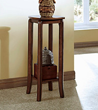 Monarch Walnut Solid Top Plant Stand