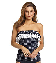 Beach House® Singer Island Dot Ruffle Bandini Swimwear Top