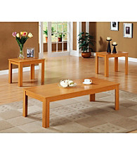 Monarch Oak Promotional 3-pc. Table Set