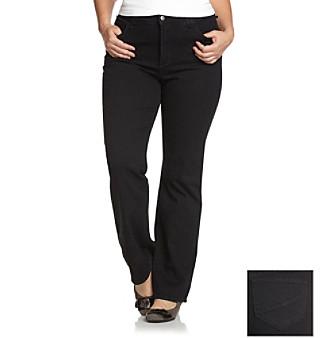 NYDJ® Plus Size Black Hayden Bootcut Jeans
