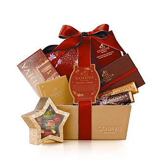 Product Godiva Holiday Cheer Gift Basket from carsons.com