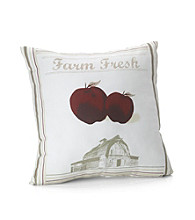 MaryJane's Home Farm Fresh Decorative Pillow