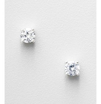 Napier® Cubic Zirconia Stud Earrings