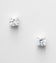 Napier® Cubic Zirconia Stud Earrings