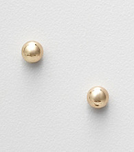 Napier® Goldtone Ball Stud Earrings