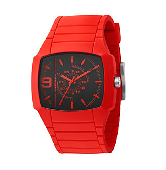 Diesel Men's Silicone Watch