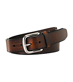 Fossil® Men's Hanover Leather Casual Belt