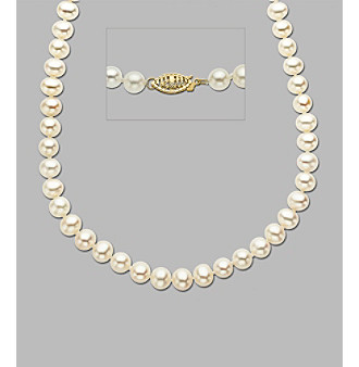 Freshwater Pearl Short Strand Necklace