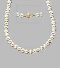 Freshwater Pearl Long Strand Necklace