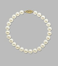 Freshwater Pearl Strand Bracelet
