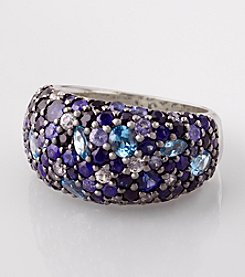 Effy® Sapphire and Blue Topaz Ring