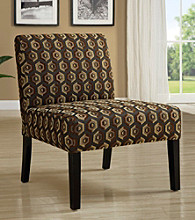 Monarch Diamondback Fabric Accent Chair