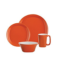 Rachael Ray® Orange Round and Square 16-pc. Dinnerware Set