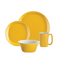 Rachael Ray® Yellow Round and Square 16-pc. Dinnerware Set
