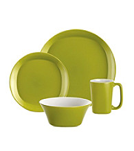 Rachael Ray® Green Round and Square 16-pc. Dinnerware Set