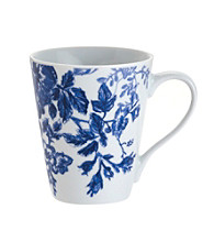 Paula Deen® Signature Blue Tatnall Street Set of 4 Mugs