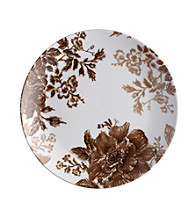 Paula Deen® Signature Coffee Bean Tatnall Street Set of 4 Salad Plates