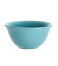 Paula Deen® Signature Aqua Bas Relief Whitaker Set of 4 Cereal Bowls