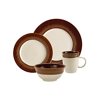 Paula Deen® Signature Chestnut Southern Gathering 16-pc. Dinnerware Set