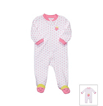Carter's® Baby Girls' Strawberry Sleep and Play