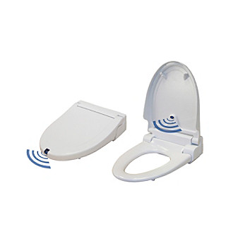 iTouchless Touch-Free Automatic Open/Close Oval Toilet Seat