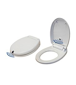iTouchless Touch-Free Automatic Open/Close Round Toilet Seat