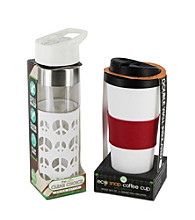 Smart Planet Peace Love Eco Hydration Cup 'N Bottle Package
