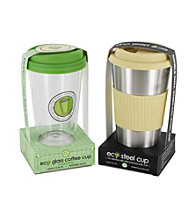 Smart Planet Soho Eco Coffee Cup Set