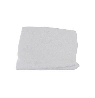 Spa Sister™ Microfiber White Hair Turban