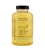 Deep Steep® Aromatherapy Honeydew-Spearmint Organic Bubble Bath