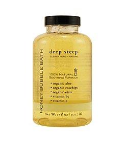 Deep Steep® Aromatherapy Honeydew-Spearmint Organic Bubble Bath