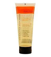 Deep Steep® Aromatherapy Tangerine-Melon Organic Shea Butter Body Wash