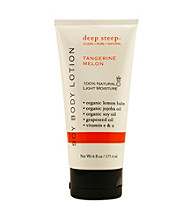 Deep Steep® Aromatherapy Tangerine-Melon Organic Soy Body Lotion