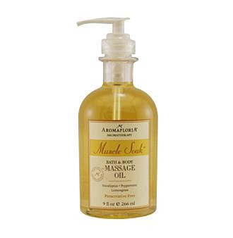 Aromafloria® Muscle Soak™ Eucalyptus Massage Oil