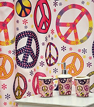Famous Home Fashion.® Girly Peace Sign 16-pc. Bath Set