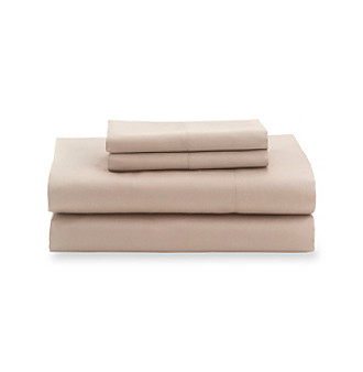 Elite Home Products Savannah 500-Thread Count Cotton Rich Solid 4-pc. Sheet Sets