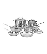 Cuisinart® Chef's Classic 11-pc. Stainless Steel Cookware Set + FREE Stainless Steel Bowls and Prep Set