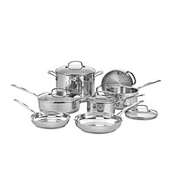 Cuisinart® Chef's Classic 11-pc. Stainless Steel Cookware Set + FREE Stainless Steel Bowls