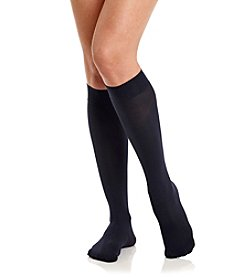 HUE® Soft Opaque Knee High Socks