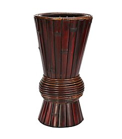 Nearly Natural® Bamboo Decorative Planter