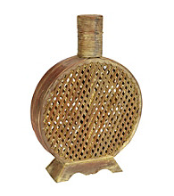 Nearly Natural® Open Weave Decorative Vase