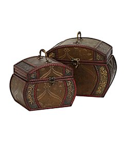 Nearly Natural® 2-pc. Decorative Chest Set