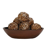 Nearly Natural® Decorative Balls (Set of 6)