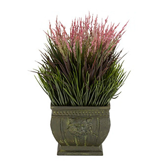 Nearly Natural® Indoor/Outdoor Mixed Grass Silk Plant